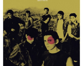 The Outsiders alternative movie poster