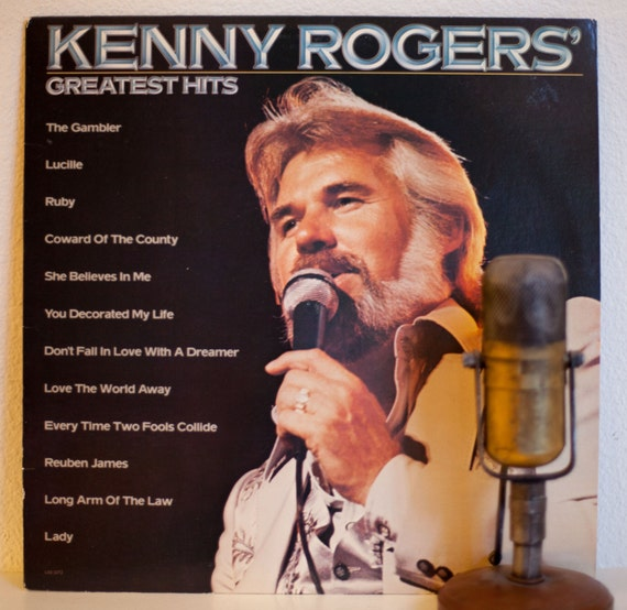 Kenny Rogers Vinyl Record Album 1970s Country by DropTheNeedle