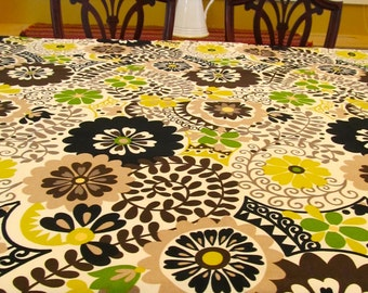 Table Cloth 14-121 Bright and Modern Table Cloth, Rectangle, Rectangular, Table Cloth, Table Cloths, Tablecloth, Tablecloths, Table Linens