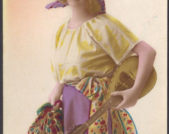 1920s Blonde French Flapper as Mignon
