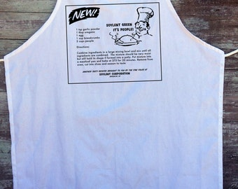 Soylent Green Apron - It's made out of people!!! (cotton actually)