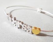 Build Your Own initial Bracelet bangle Any Charms Bracelet Mom Bangle Mothers Bracelet Personalized Custom Initial bangle Personalized Gift