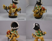 Chain Chomp Bowser Amiibo Custom
