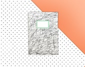 Graphite notebook / journal / diary - A5 - 32 White pages