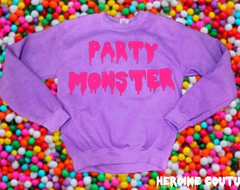 Custom Color Party Monster Sweatshirt