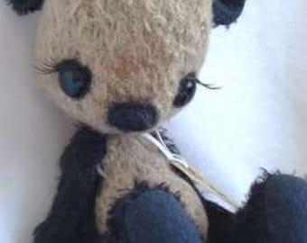 """PDF File for 9 Inch Panda Bear Sewing Pattern """"Morgane"""""""