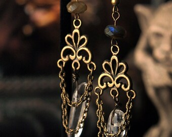 Clearance Item 30% Off Mysticism Earrings 3 inches