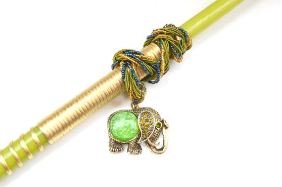 Elephant Pendant Lampada . Greek Easter Candle . Elephant