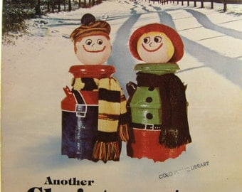 50% off clearance sale! Another Christmas in the Country, vintage book