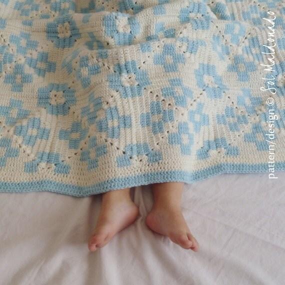 Tapestry Crochet Tutorial For Beginners : Baby Blanket Tribe crochet pattern - crochet Tapestry ...