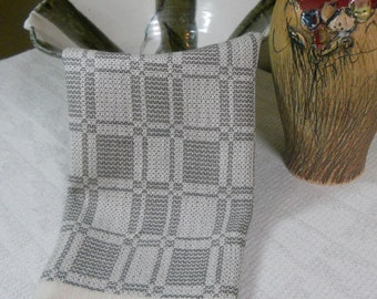 E629 Handwoven Table Centerpiece or Dresser Scarf - Summer and Winter
