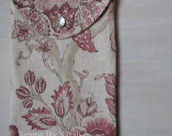 Linen Envelope Organizer / Vintage Look / Lingerie Bag / Linen Gift Set/ Travel Bag