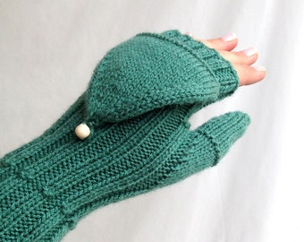 Convertible Mittens ,Knit Gloves ,Fingerless Gloves ,Winter Accessories ,Arm warmers ,Women Gloves , Christmas Gifts For Her senoaccessory