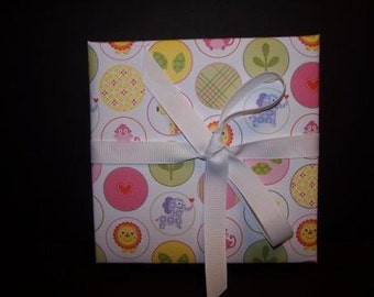 Baby Animals Pink Expandable Scrapbook