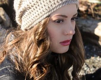 Crochet Hat Pattern: Cancer Hat, 'Matt's Cap', Chemo Hat, Adult Crochet Hat