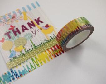 Colorful Washi Tape (10M)