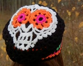 Sugar Skull Slouch, Made to Order, Glamour4You