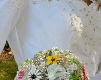 Bouquet, Brooch Bridal Bouquet