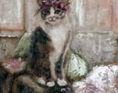 Her Crown. Original Oil Painting by Kelly Berkey