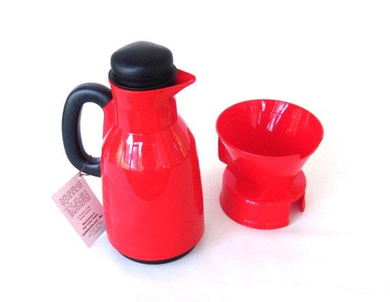 Thermal Coffee Maker Red : Hammerplast Coffee Maker Thermal Coffee Carafe by LaurasLastDitch
