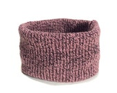 X Small Warm Mauve Knit D...