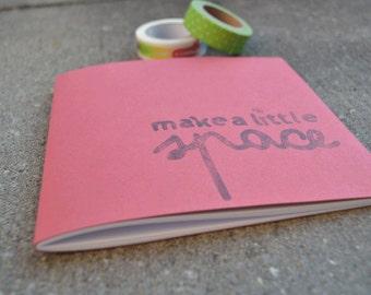 Make A Space Notebook Bordeau