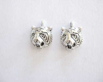 2 Tiger Charms for your Creations