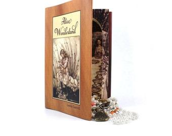 Stash Book Safe - Alice in Wonderland  Secret Storage Book
