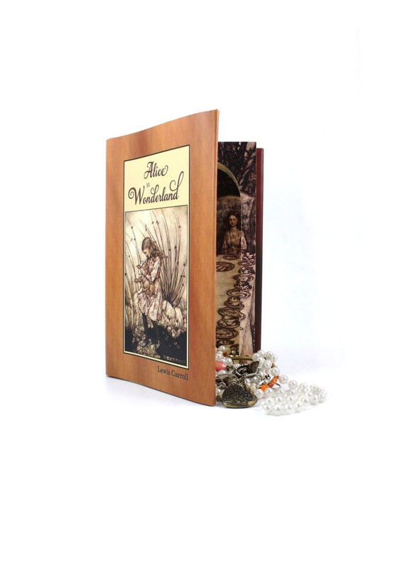 Stash Book Safe - Alice in Wonderland  Secret Storage Book