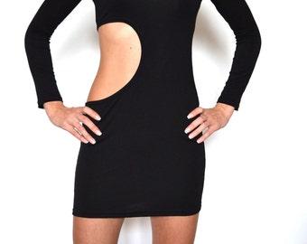 LITTLE BLACK DRESS Sexy Black Dresses Cut out Dress Prom Dress Black Dresses Black Dress Club Dresses Club Dress Off the Shoulder Dress