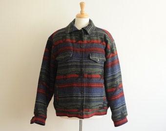 Vintage Woolrich Wool Jacket size womens L