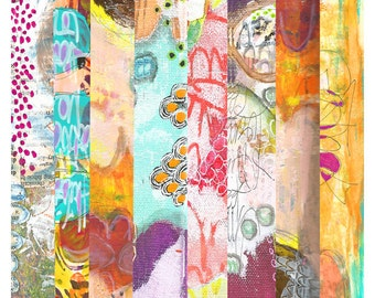 Art Strips - #1 - Printable Art Sheet