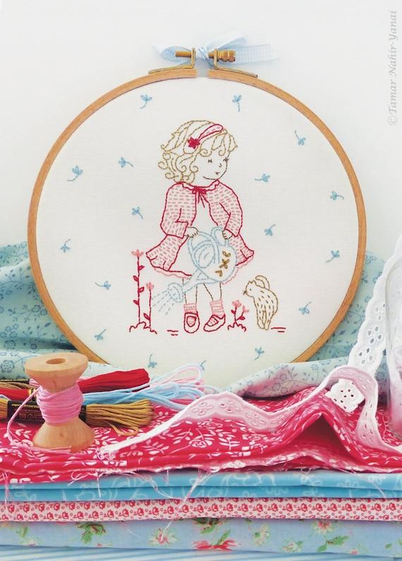 Embroidery kit christmas gifts for mom by tamarnahiryanai