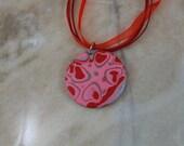 Polymer Clay Valentine Necklace