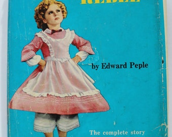 Vintage Shirley Temple edition of The Littlest Rebel