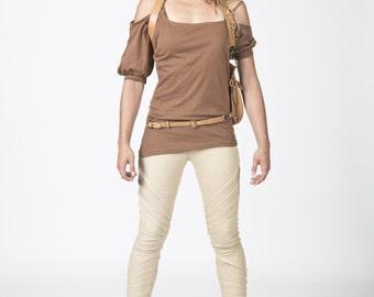 Organic cotton asymeric T-shirt for Women !!!!