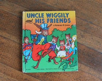 Vintage Children's Book - Uncle Wiggily and His Friends (1960)