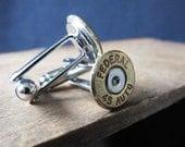 Bullet Cuff Links (Cufflinks) - Federal 45 Auto