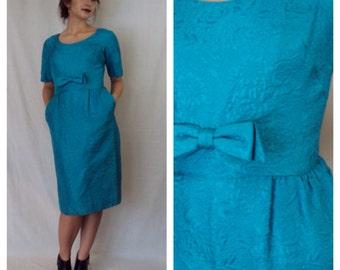 Trudy Cocktail Dress 1950s M/L