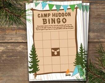 Bingo Camp Theme Printable