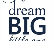 Unique Dream Big Decal Related Items Etsy