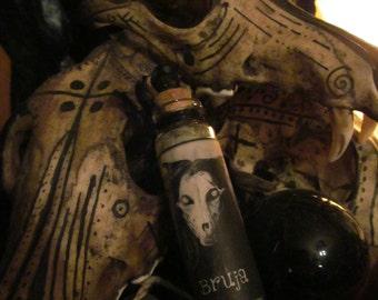 BRUJA INCENSE BLEND, voodoo, hoodoo, spells, divination, cauldron, incense, apothecary, herbs, resins, woods, herbal, resins
