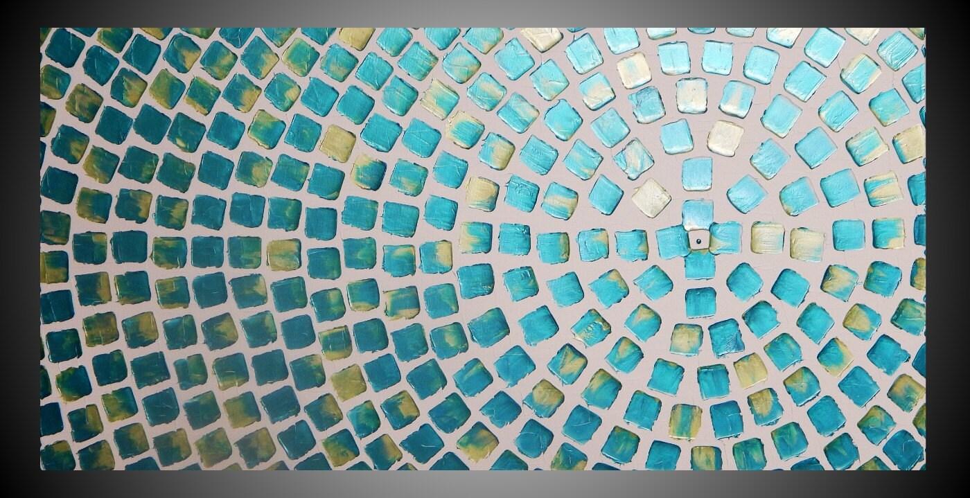 Painting Acrylic Metallic Teal