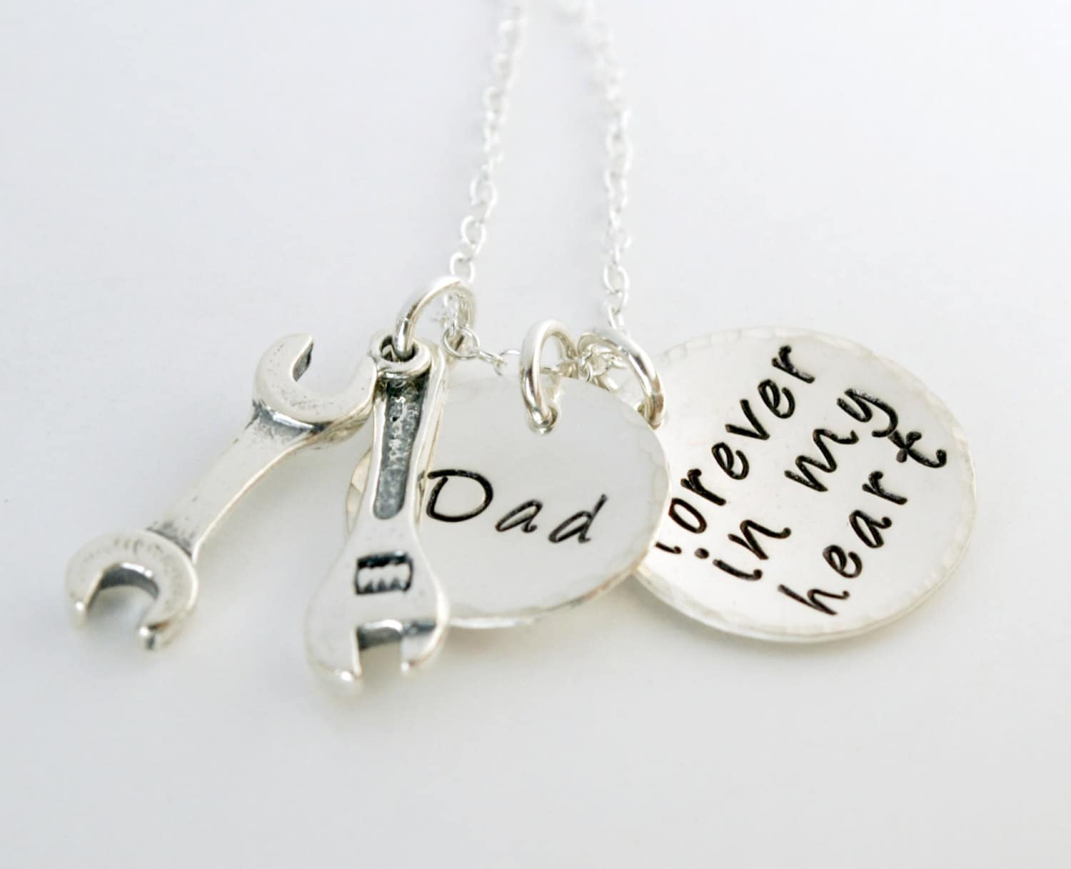 Personalized Memorial Jewelry Tribute To Dad Memorial