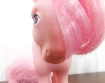 "1980's My Little Pony ""Cotton Candy"". Vintage 1982 G1 Pony"