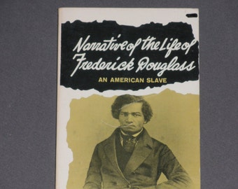ON SALE Narrative of the Life of Frederick Douglass An American Slave - Written By Himself - Doubleday Anchor Book 1973 Rare Vintage Paperba