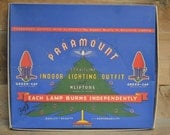 Vintage Christmas lights: Paramount light strand