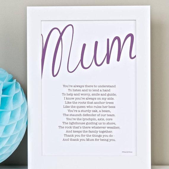 mama mama mama mammy personalisierte geschenk von bespokeverse. Black Bedroom Furniture Sets. Home Design Ideas