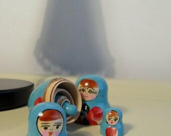 Vintage Russian Matryoshka Dolls