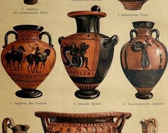 Popular items for antico vaso on etsy for Vasi antica grecia